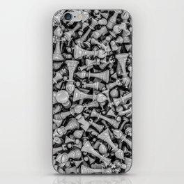 Chess B&W iPhone Skin