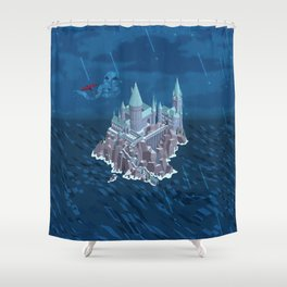 Hogwarts series (year 6: the Half-Blood Prince) Shower Curtain
