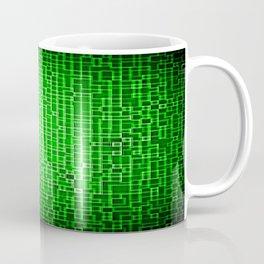 Green Pixels Coffee Mug