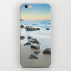 Magic beach. Volcanic sea. iPhone & iPod Skin