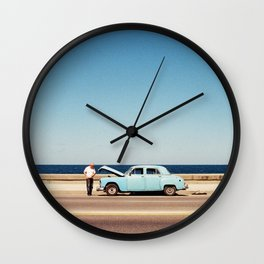 Cuban Summer Wall Clock