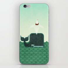 Whale, whale, whale... iPhone & iPod Skin