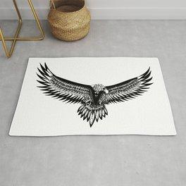 Wild eagle ecopop Rug