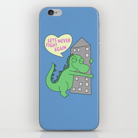 goodzilla iPhone & iPod Skin
