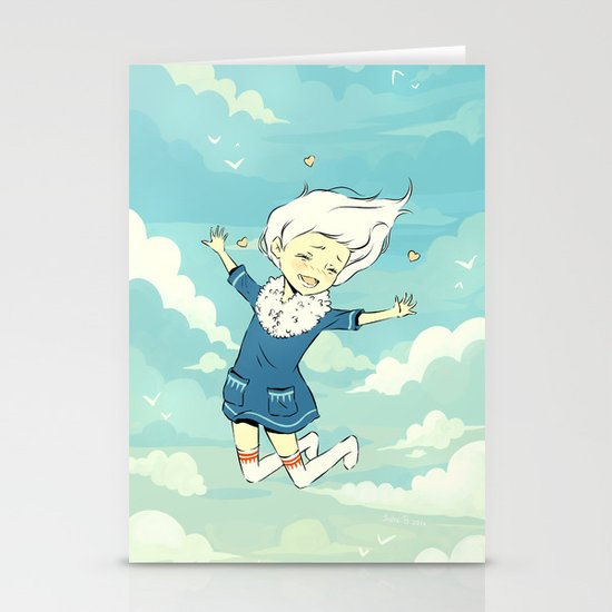 Spring Sky Stationery Cards