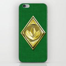 Green Ranger iPhone & iPod Skin