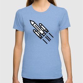 Space Rocket Icon T-shirt