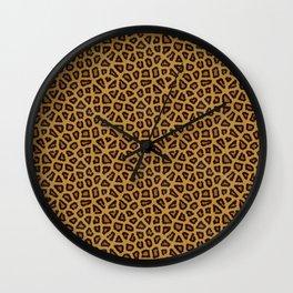 Leopard Skin Fur Pattern Wall Clock