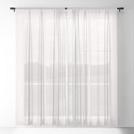 Coconut Butter Sheer Curtain
