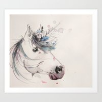 Unicorn 2 Art Print