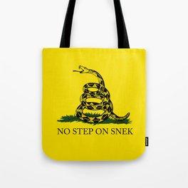 No Step On Snek Tote Bag