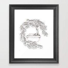 Ginkgo Tree Framed Art Print