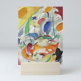 Vassily Kandinsky - Sea Battle Mini Art Print