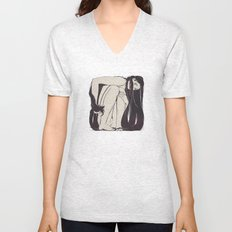 My Simple Figures: The Square Unisex V-Neck