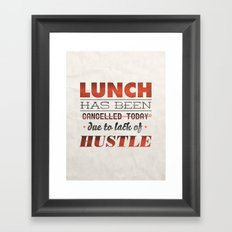 Camp Hope Framed Art Print