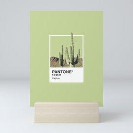 Pantone Series – Cactus Mini Art Print
