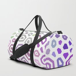 Experimental pattern 40 Duffle Bag