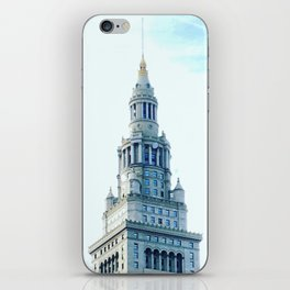 Cleveland Terminal Tower Sunny Morning iPhone Skin