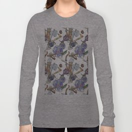 Ocarina Patterns Long Sleeve T-shirt