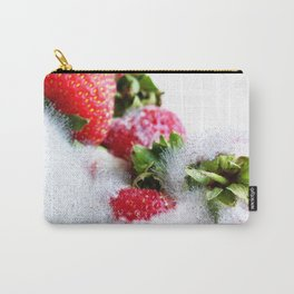 Strawberry Spores Carry-All Pouch