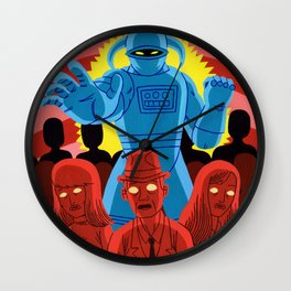 IT CAME TO EARTH Wall Clock