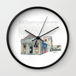19 Marion Street Wall Clock