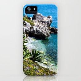 Coastline of Gibraltar iPhone Case