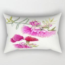 Australian Pink Gumnut Gum Flower  Rectangular Pillow