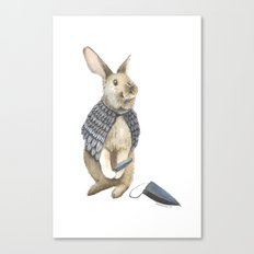 The Disguise: A Rabbit Canvas Print