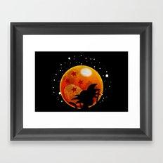 The Moon Child Framed Art Print