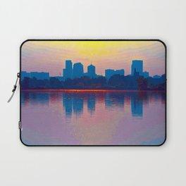 Come Sit With Me At Sloan Lake Downton Denver Coloado Laptop Sleeve