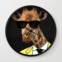 I look great in yellow, right? Wall Clock