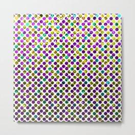 Polkadots Jewels G192 Metal Print