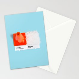Road Construction & Winter Stationery Cards