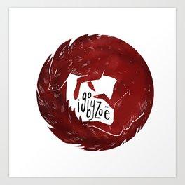 igobyzoe3 Art Print