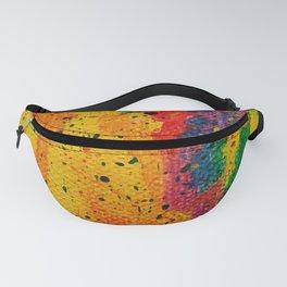 Rainbow Abstract #17 Fanny Pack
