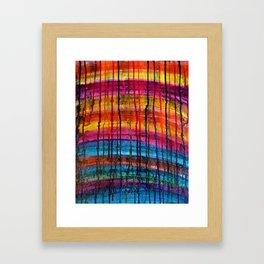 Natural Layers Framed Art Print