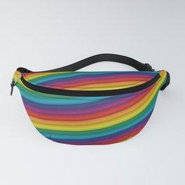 HD Rainbow Fanny Pack