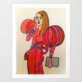 Anna Wintour Art Print