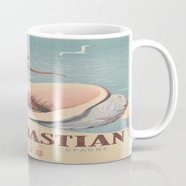 Vintage poster - San Sebastian Coffee Mug