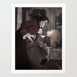Phantom of Versailles Art Print