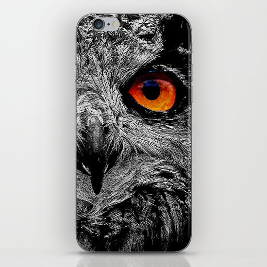 YOU'RE THE ORANGE OF MY EYES iPhone & iPod Skin