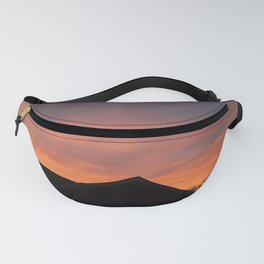 Red Glow Sunset Fanny Pack