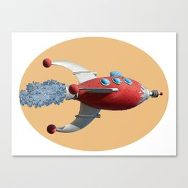 Spaceship - See the universe Canvas Print