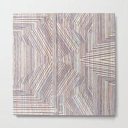 wood shapes Metal Print