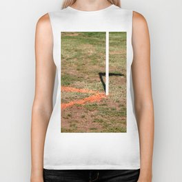 Orange Soccer Corner Biker Tank
