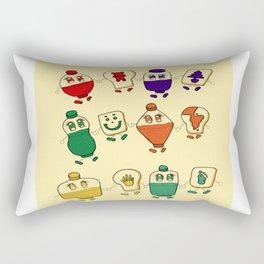 Jam Jam Rectangular Pillow