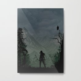 Tomb Raider | Warriors Landscapes Serries Metal Print