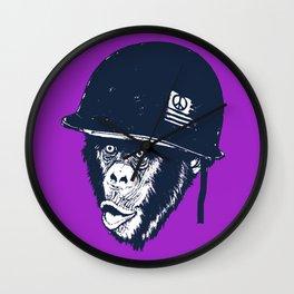 Monkey mania Wall Clock