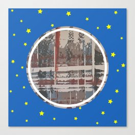 Waterlogged - star Canvas Print
